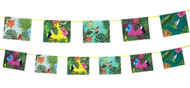 Tropical Party Banner Decoration
