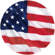 American Flag Party Plates