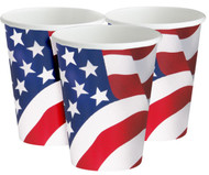 American Flag Party Cups