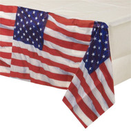 American Flag Party Tablecover
