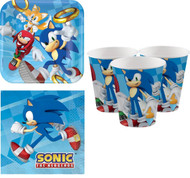 Sonic The Hedgehog Party Tableware Set