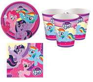 My Little Pony Party Tableware Set
