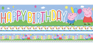 Peppa Pig Party Banner