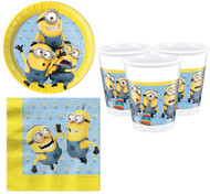 Minions Party Tableware Set