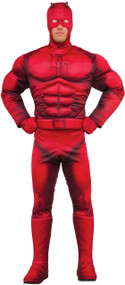 Men's Deluxe Daredevil  Fancy Dress Costume