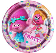 Trolls Party Plates