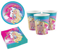 Barbie Dreamtopia Party Tableware Set