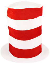 Child's Striped Fancy Dress Top Hat