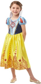 Girls Snow White Fancy Dress Costume 1