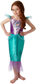 Girls Ariel Fancy Dress Costume