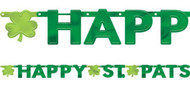 Happy St Patrick's Day Party Banner