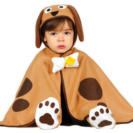 Baby Brown Puppy Fancy Dress Costume