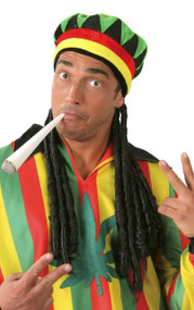 Adults Jamaican Hat With Braids