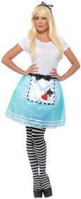 Ladies Instant Alice Fancy Dress Costume Kit