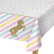 Pastel Unicorn Party Tablecover