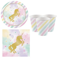 Pastel Unicorn Tableware Set