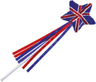 Sequin Union Jack Fairy Wand