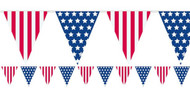American Flag Party Bunting