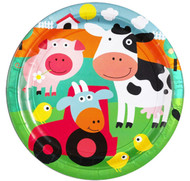 Farmyard Fun Party Plates