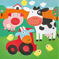 Farmyard Fun Party Napkins