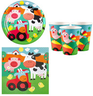 Farmyard Fun Party Tableware Set