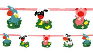Farmyard Fun Animal Party Banner