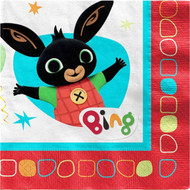 Bing Bunny Party Napkins