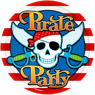 Pirate Skull Party Plates