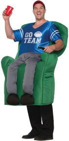 Mens Armchair Athlete Fancy Dress Costume