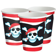 Pirate Skull Party Cups