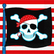 Pirate Skull Party Napkins