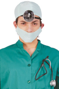 Men's Surgeon Fancy Dress Costume Kit