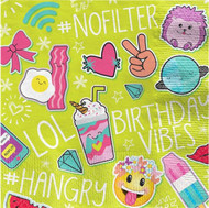 Selfie Celebration Party Napkins