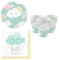 Sunshine Baby Shower Party Tableware Set