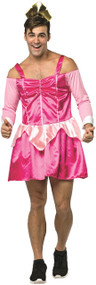 Mens Sleepy Pink Princess Fancy Dress Costume