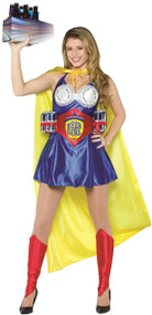 Ladies Ultimate Beer Hero Fancy Dress Costume