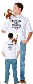Men's Spank My Monkey Fancy Dress Top