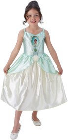 Girls Classic Tiana Fancy Dress Costume
