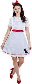 Ladies Classic Dorothy Fancy Dress Costume