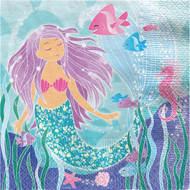 Magical Mermaid Party Napkins