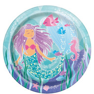 Magical Mermaid Party Plates