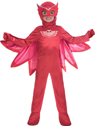 Childs Official PJ Masks Owlette Fancy Dress Costume