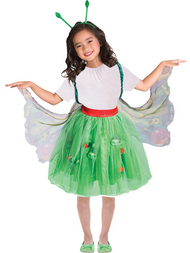 Girls Official Very Hungry Caterpillar Fancy Dress Costume