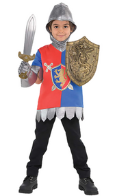Childs Knight Fancy Dress Costume