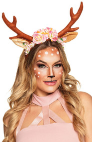 Ladies Reindeer Fancy Dress Tiara
