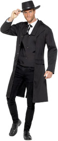 Mens Western Marshall Fancy Dress Costume