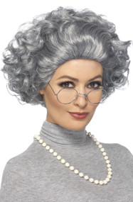 Adults Instant Granny Fancy Dress Costume Kit