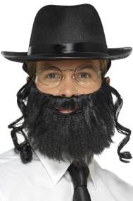 Mens Instant Rabbi Fancy Dress Costume Kit