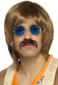 Mens 60s Hippie Singer Fancy Dress Kit