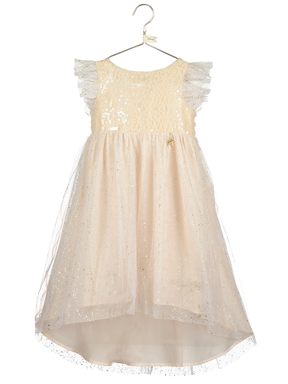 6823495012262 Girls Disney Boutique Sparkly Tinkerbell Occasion Dress. Previous. Image 1